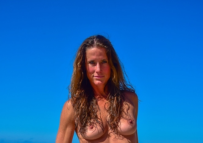 SofieMarieXXX/SM_ww_blue_sheer_bandeau_skirt_malibu_lifeguard_tower_web
